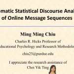Ming Ming Chiu - Statistical Discourse Analysis
